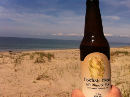 And we celebrated with some yummy Dogfish 120minute IPA
