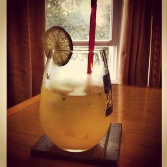 Watermelon Mint Lime Cocktail