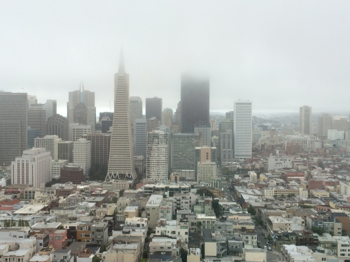 San Fransisco from Coit Tower!