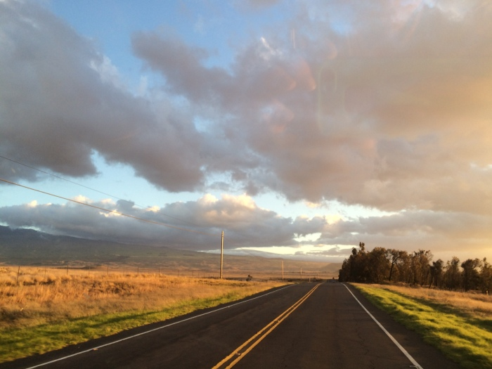 A beautiful drive home.